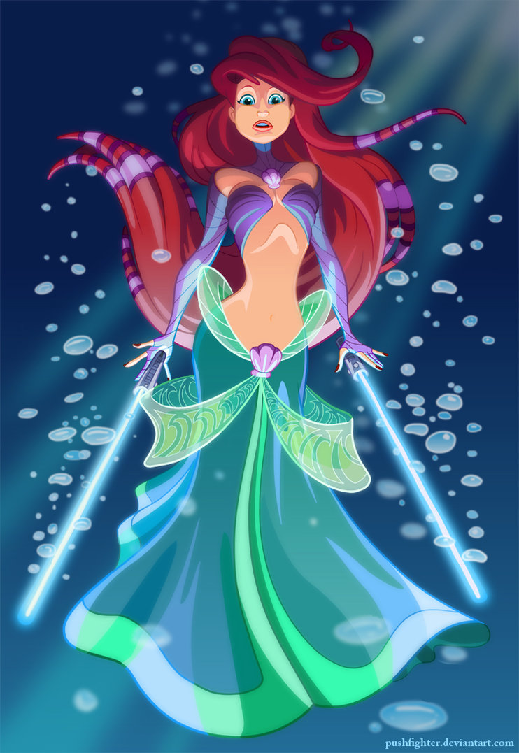 Jedi Master Ariel, although I think she would still use a fork