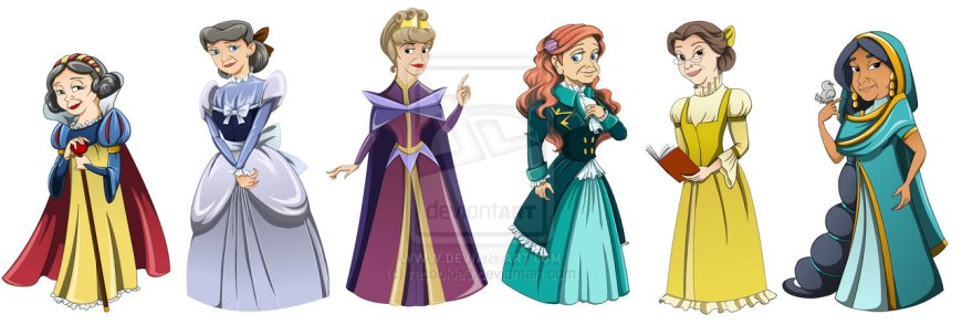 Princesses need to turn into queens one day