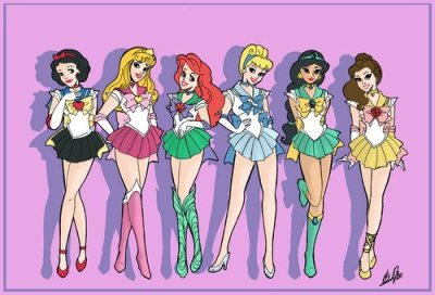 Sailor Princesses